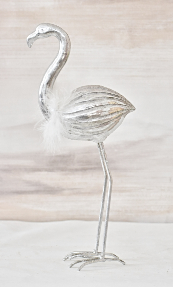 Plameňák Joe silver 28,5 cm