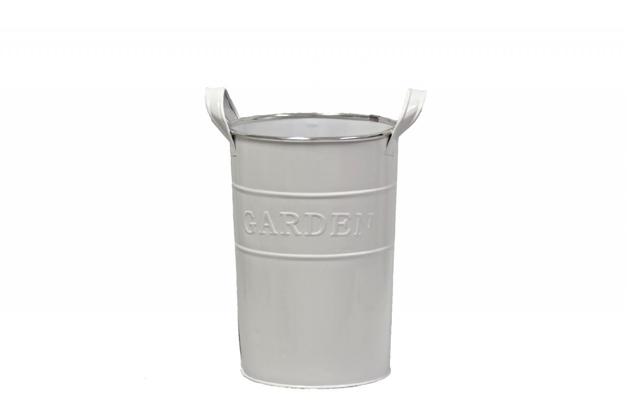 Plechová váza GARDEN 28,5x22 cm