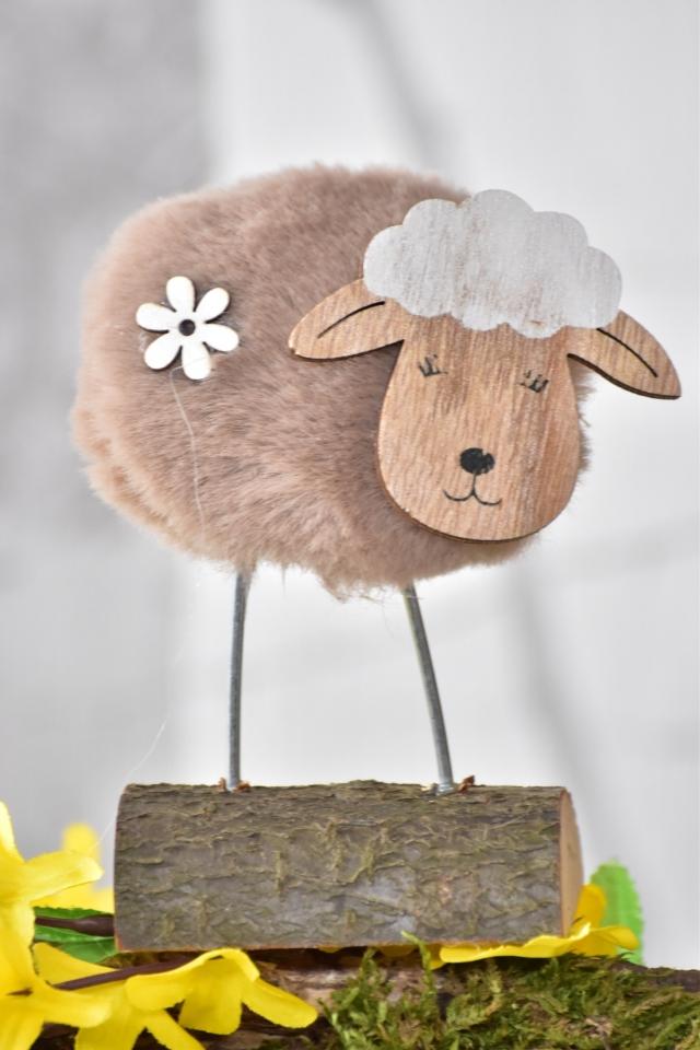 Hnědá ovečka 11,5 cm