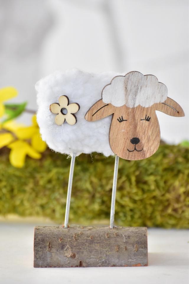 Bílá ovečka 11,5 cm