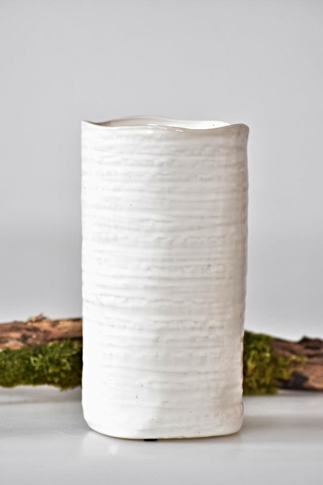 Keramická váza Ginger 12x23 cm