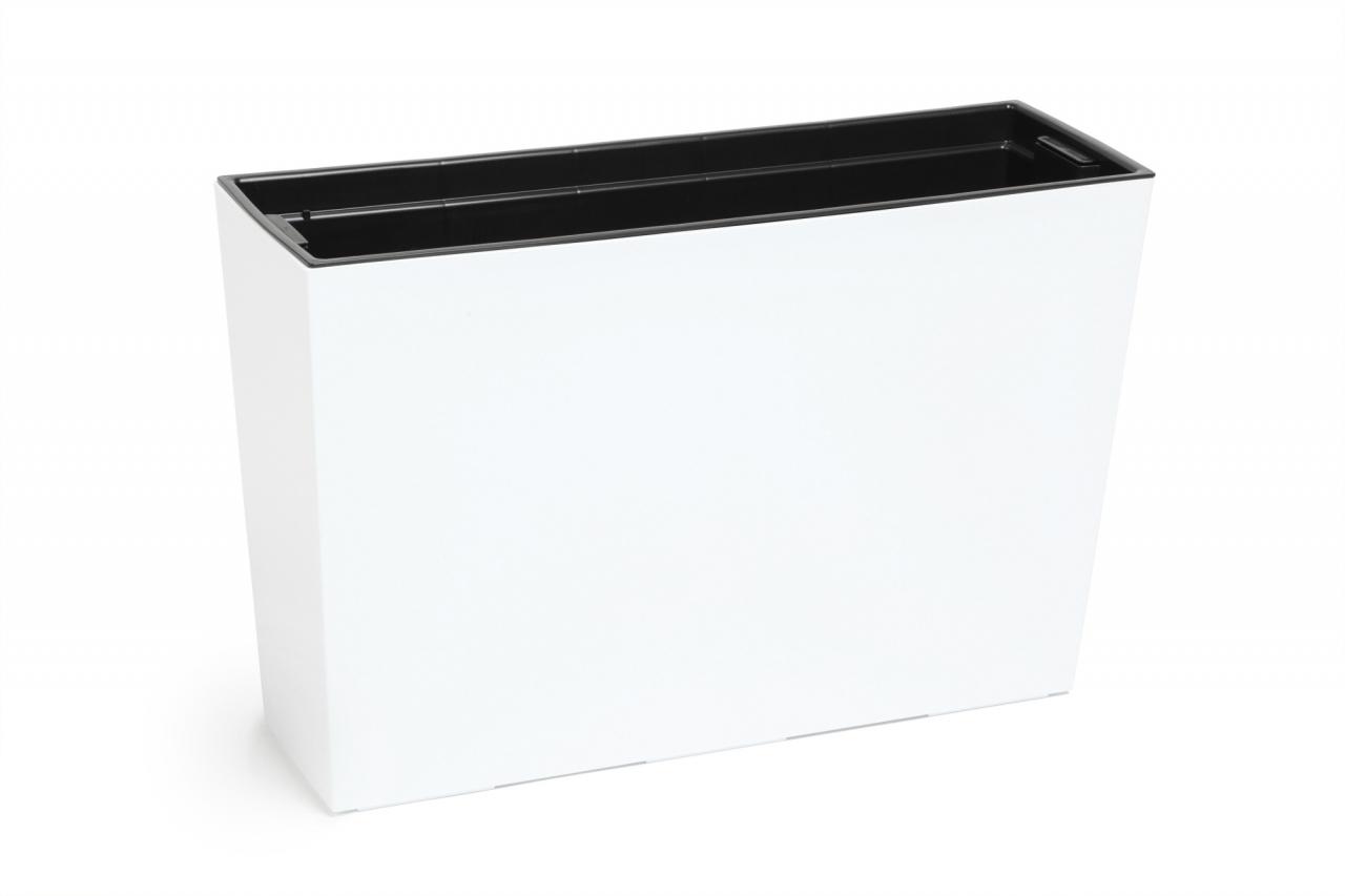 Truhlík  Werbena lesklý 190x560 mm, bílý