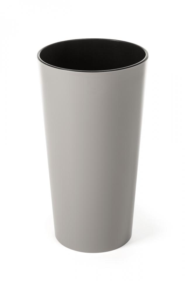 Plastový květináč Lilia 465 mm, taupe