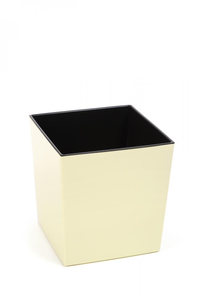 Plastový květináč Juka 300x300 mm, vanilka