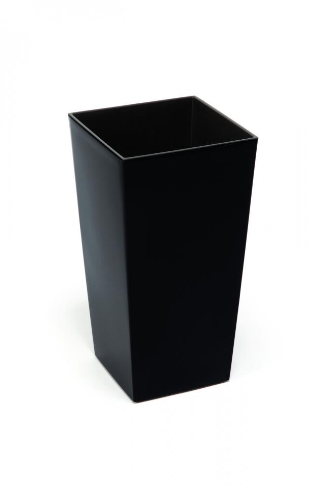 Plastový květináč Finezia 190x190 mm, černý