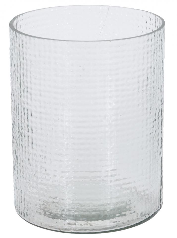 Skleněný svícen Hurricane průhledný 15x17,5 cm