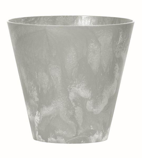Květináč Tubus Beton 30 cm, šedý