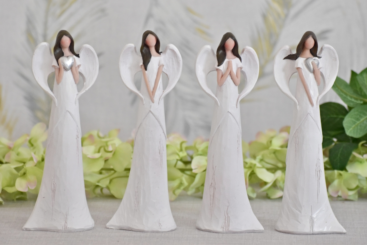Anděl Sofie 20 cm, bílý