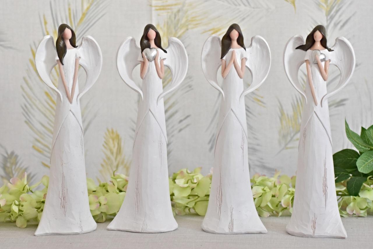 Anděl Sofie 30,5 cm, bílý