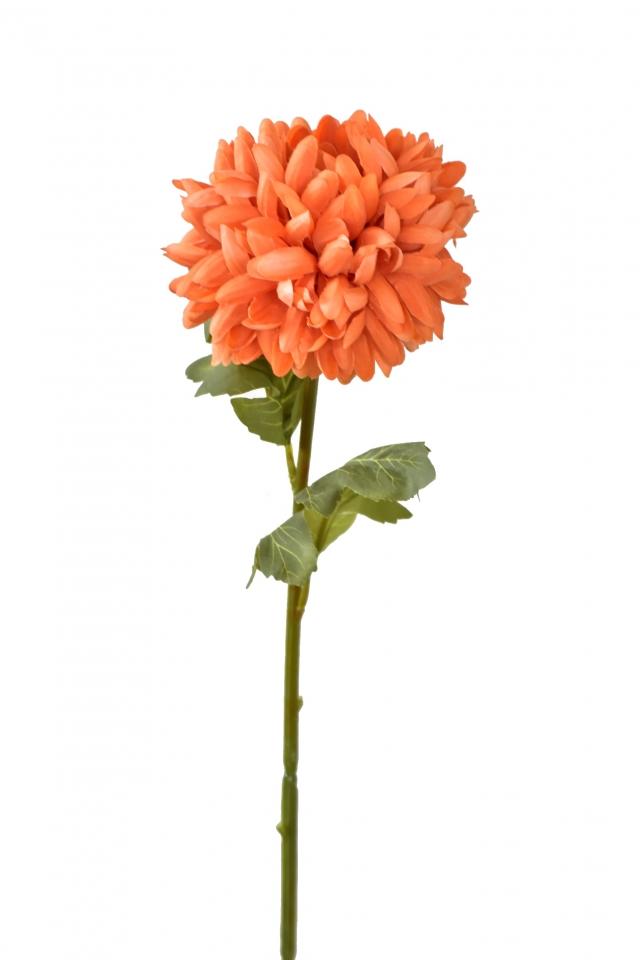 Chryzantéma oranžová 67 cm