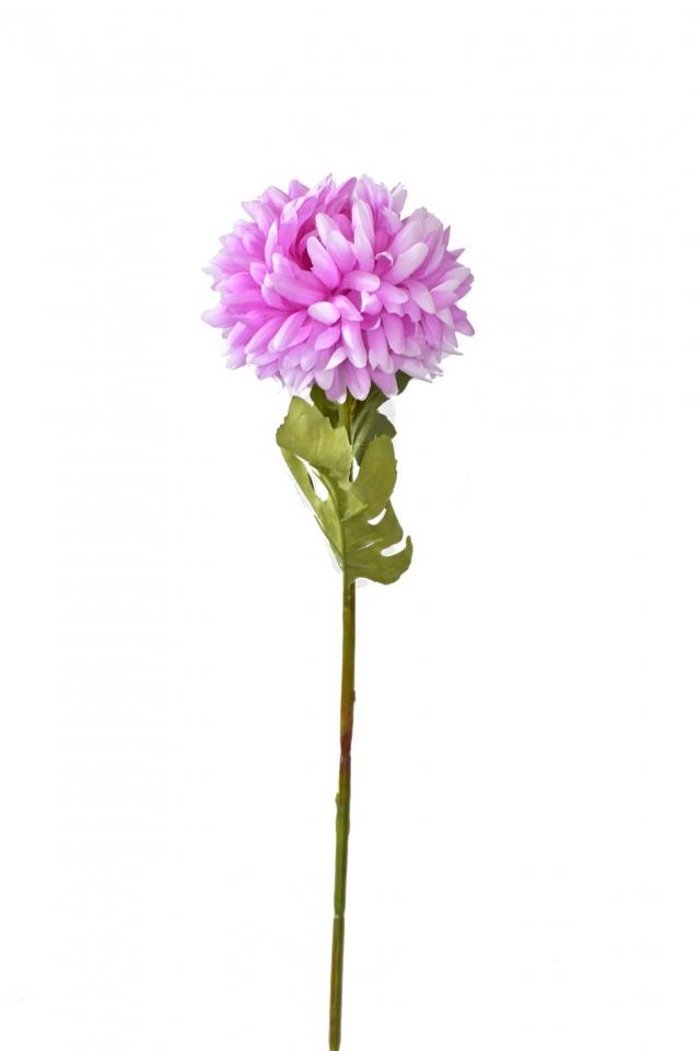 Chryzantéma světle fialová 67 cm