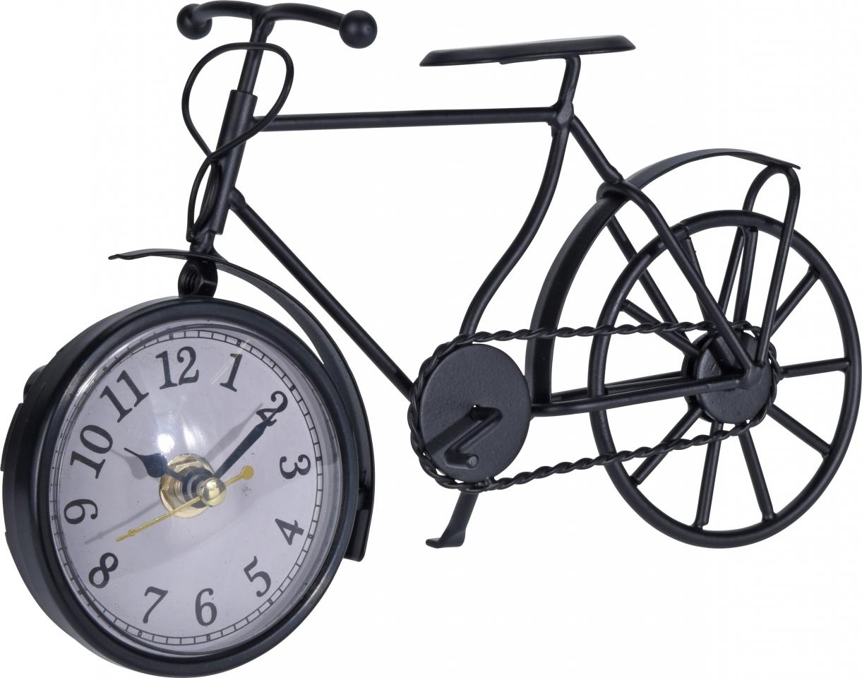 Hodiny retro bicykl 23x7x13 cm