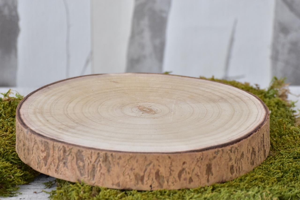 Dřevěná podložka Paulownia M, 23x4 cm