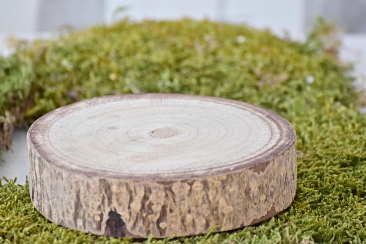Dřevěná podložka Paulownie 15,5x4 cm
