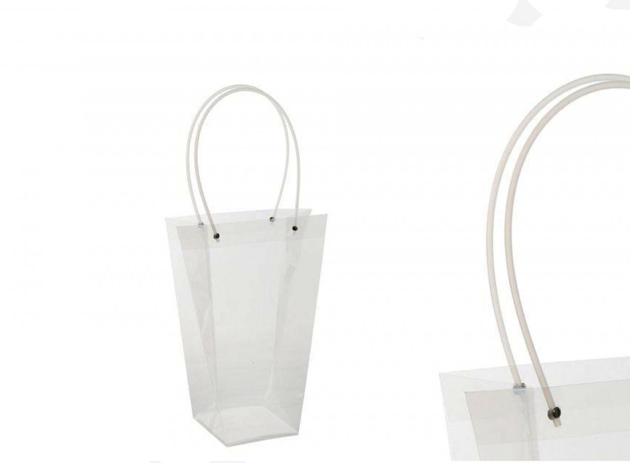 Průhledná plastová taška M