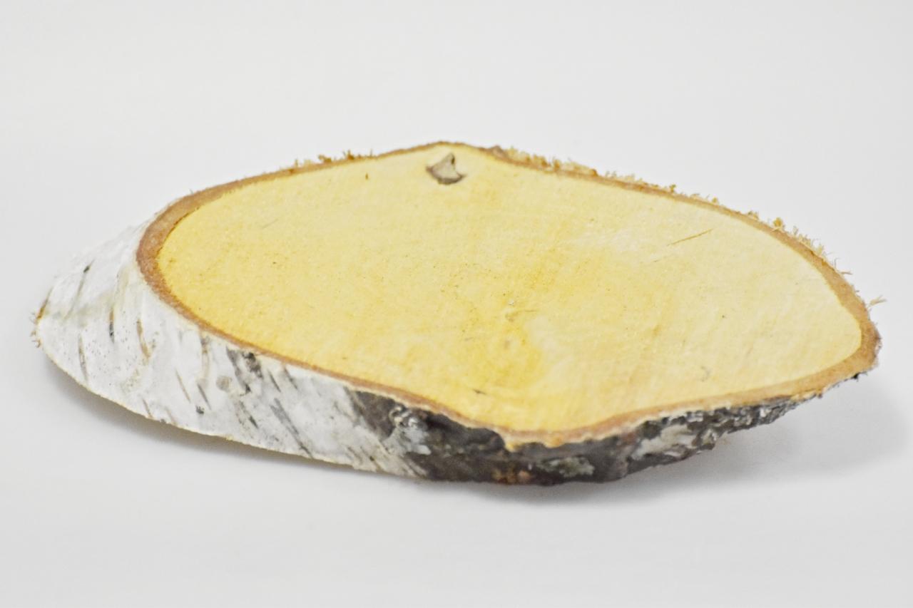Dřevěná břízová podložka 10-14 cm