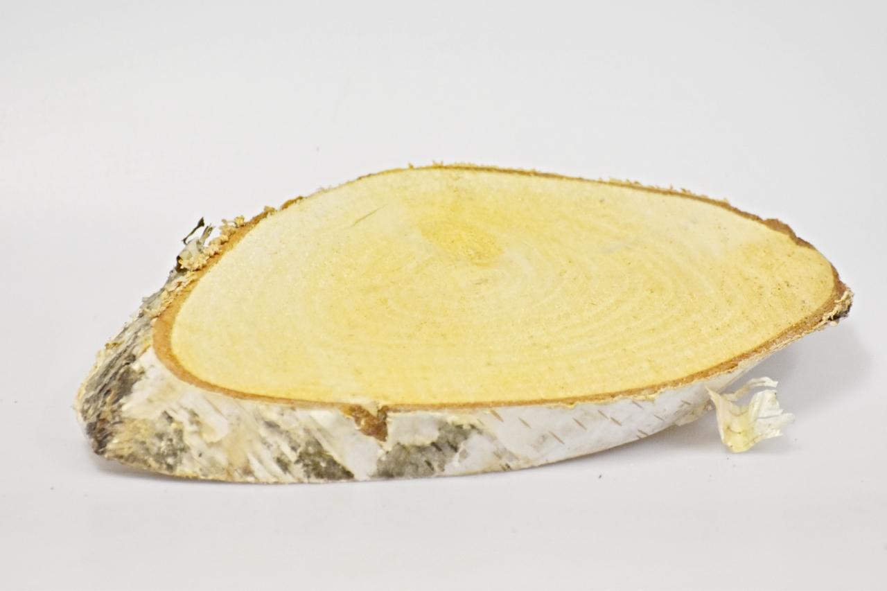 Dřevěná břízová podložka 15-18 cm