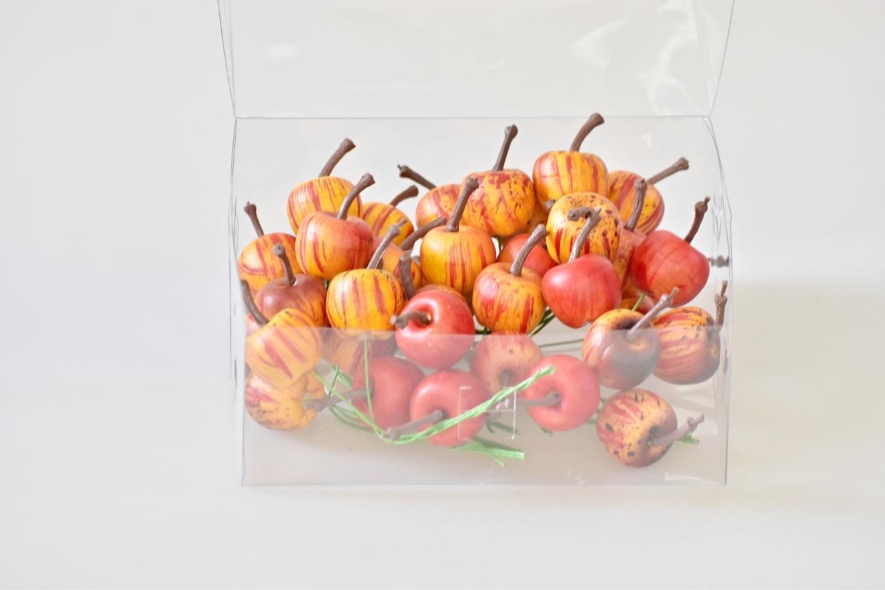 Dekorace - jablko oranžové s/36