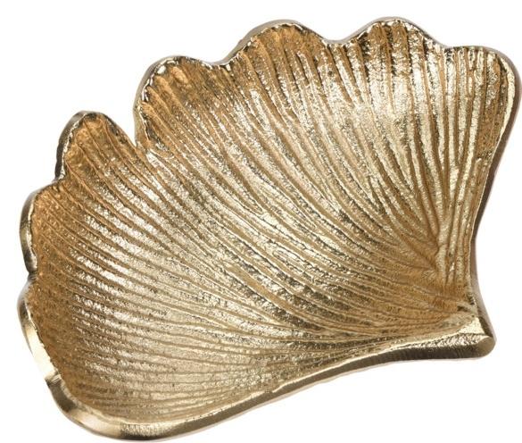 Dekorační list Ginkgo, zlatý