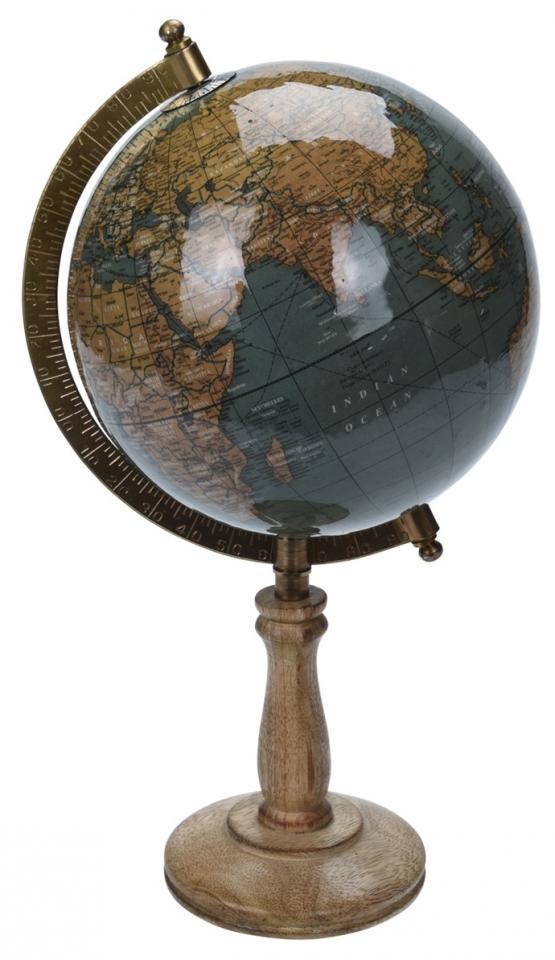 Otočný globus petrolejový 32 cm