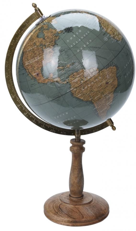 Otočný globus petrolejový 43 cm
