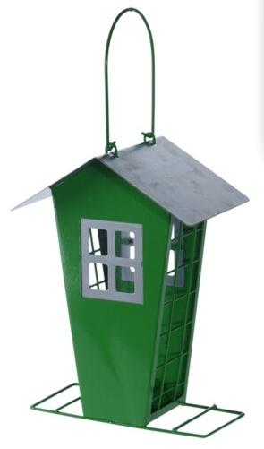 Krmítko pro ptáky zelené 15,7x11x22 cm (121567 041 CY8900970 krmítko zelené)