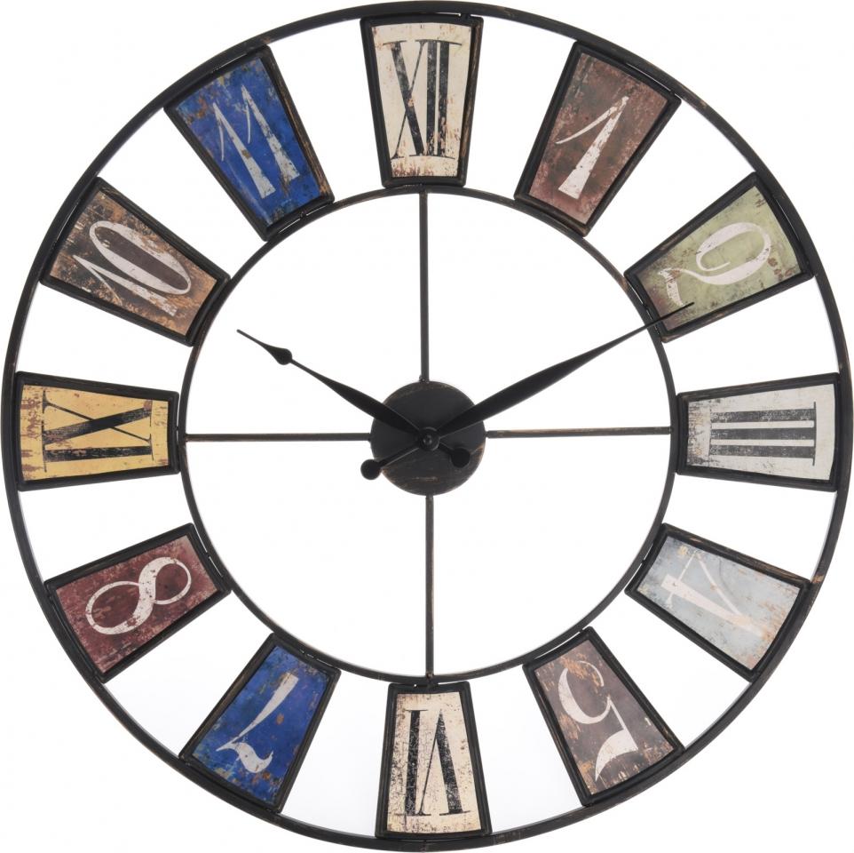 Kovové hodiny industrial 60 cm