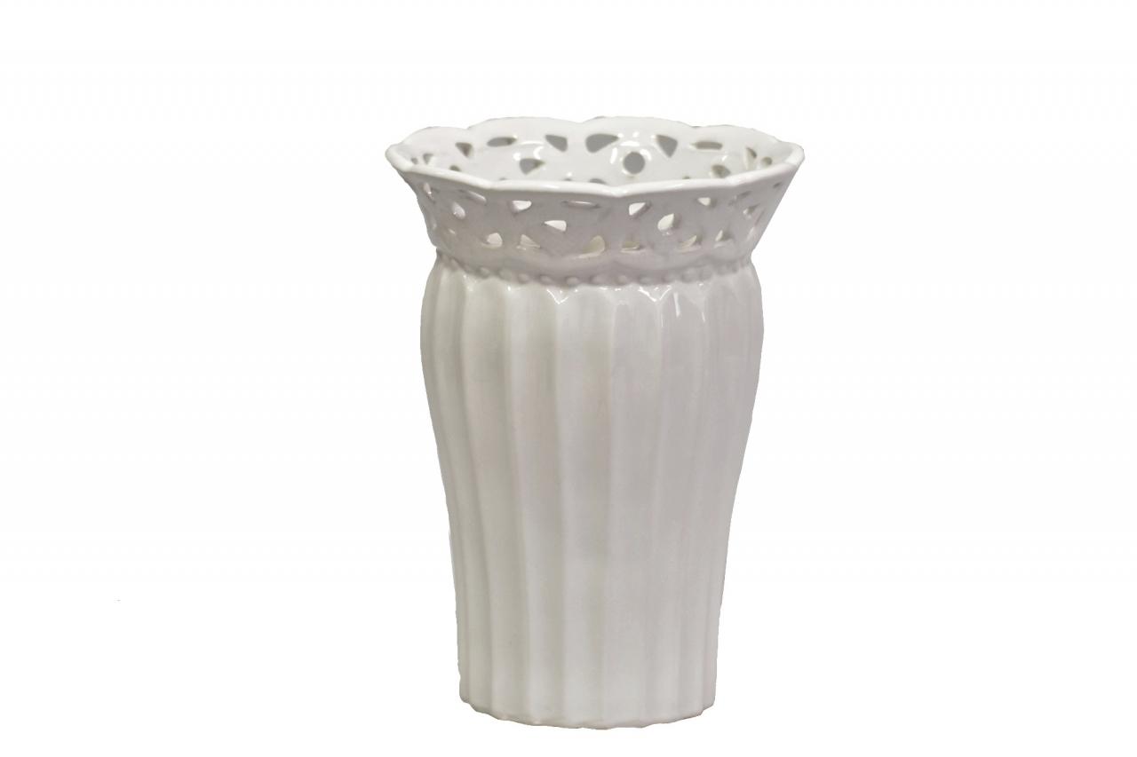 Keramická váza Rustik 19x14 cm