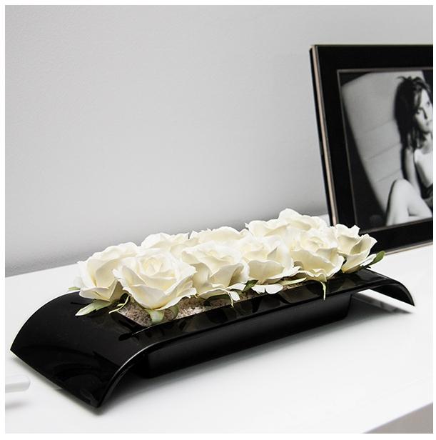 Ikebana černá 192 x 134 mm