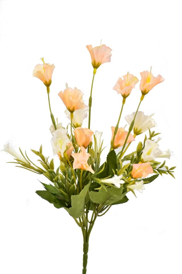 Kytice mini lilií 33 cm, meruňková