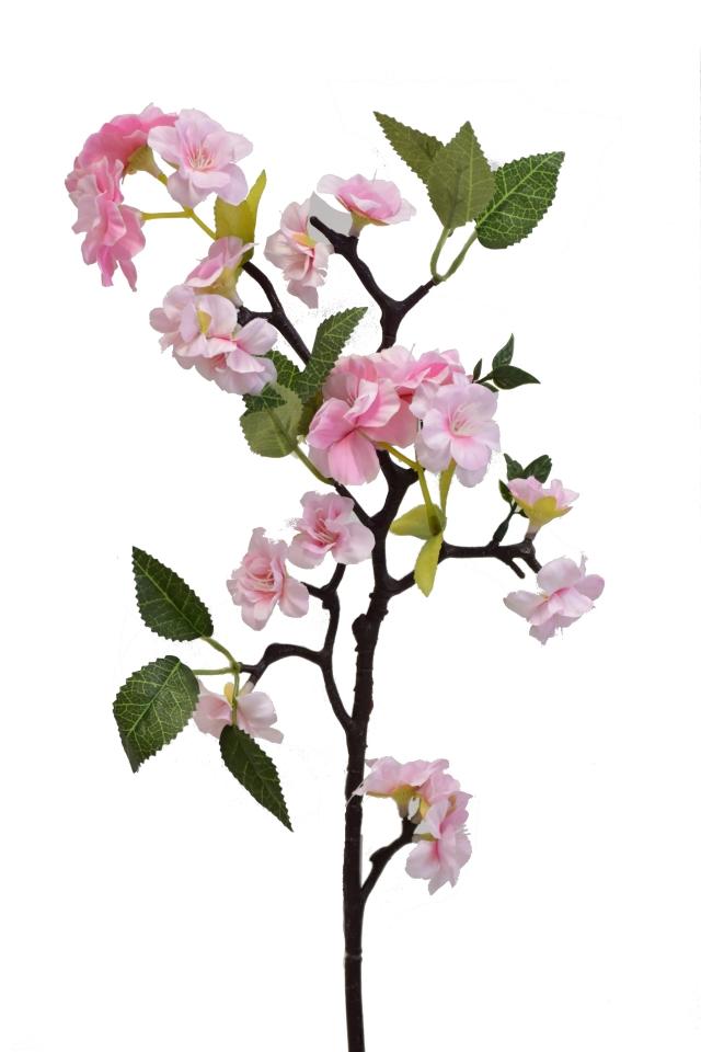 Větvička jabloně 66 cm, růžová