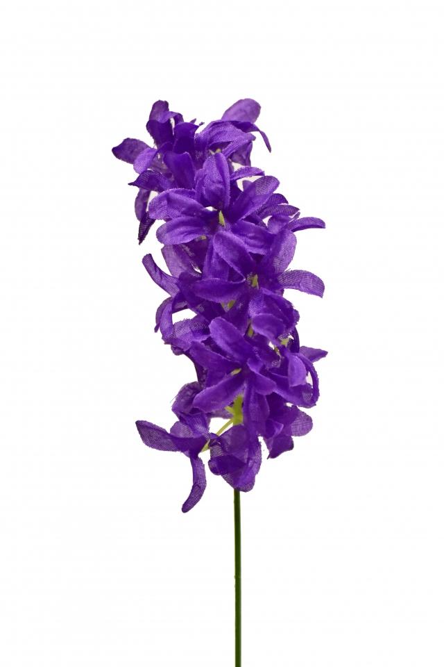 Umělý hyacint 26 cm, fialový