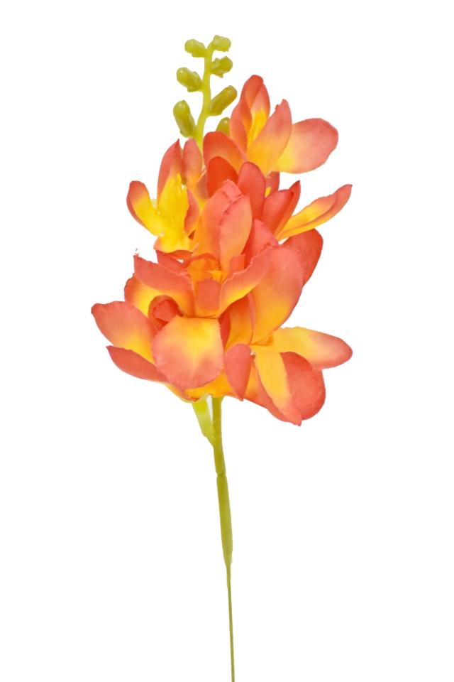 Umělá frézie 26 cm, oranžová