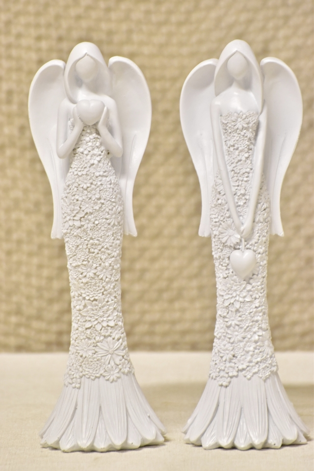 Anděl Lili Flo bílý 24,5 cm (122007 015 CAP-7-00962-20 W anděl)