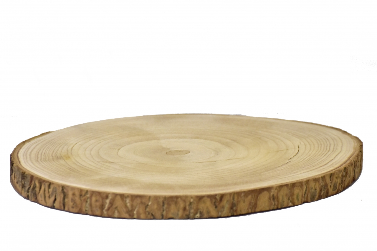 Dřevěná podložka Paulownie 30x2 cm