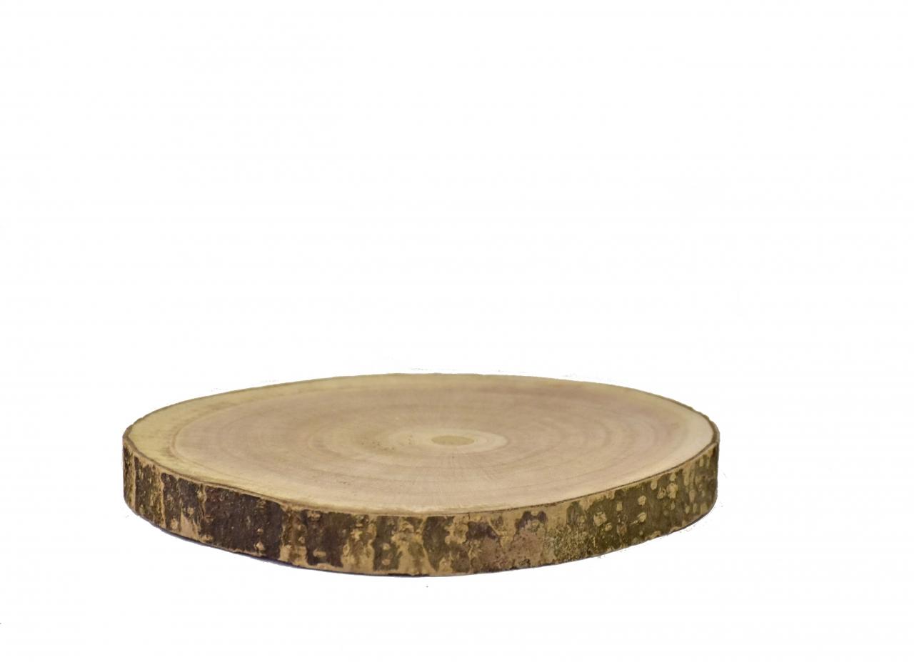 Dřevěná podložka Paulownie 20x2 cm