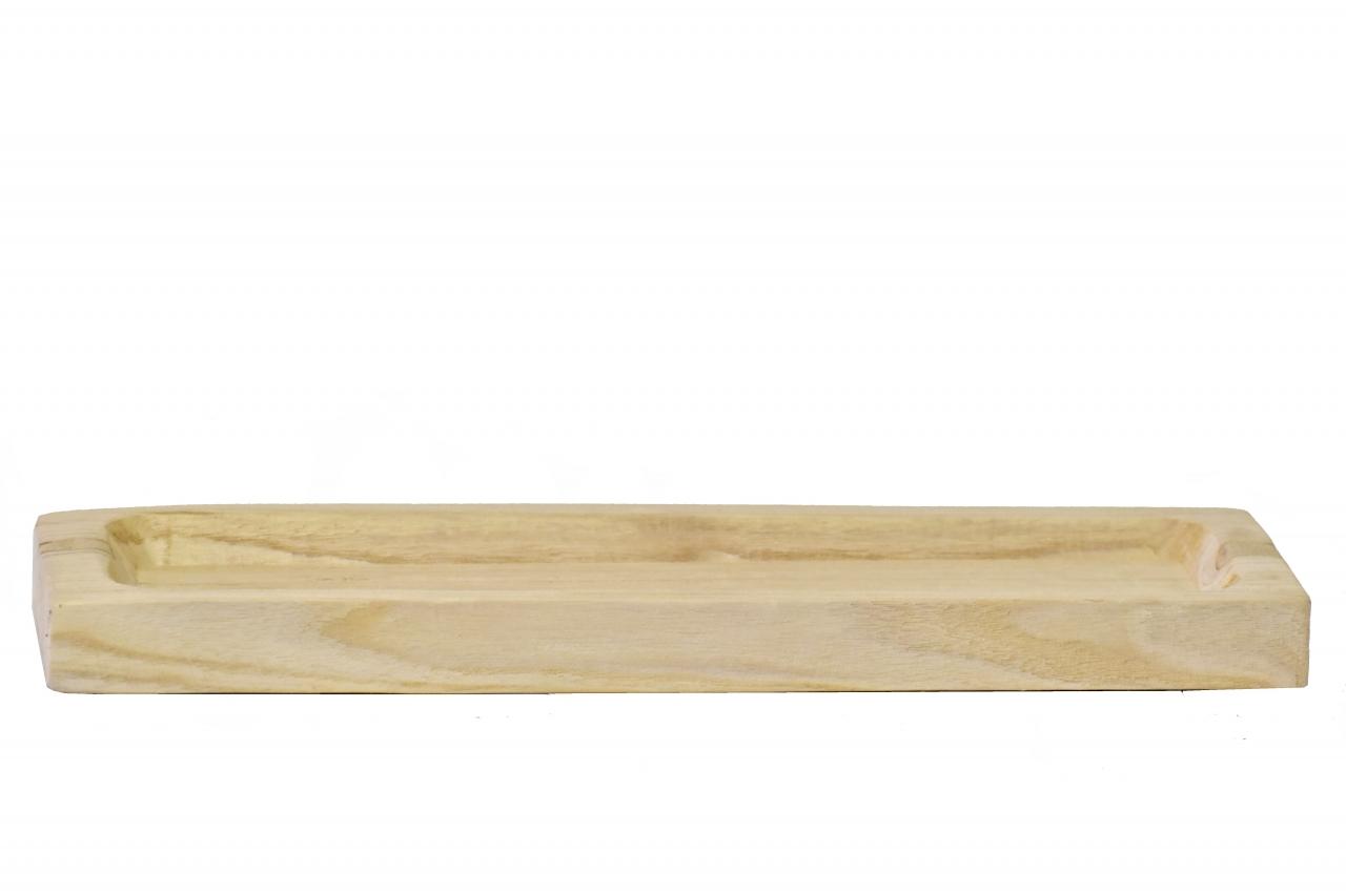 Dřevěný tác z Paulownie 40x13,5x3 cm