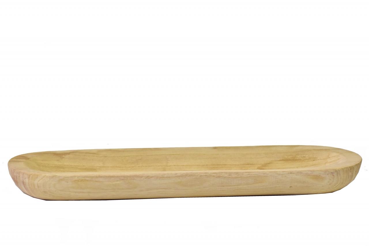 Dřevěný tác z Paulownie 54x15,5x5 cm