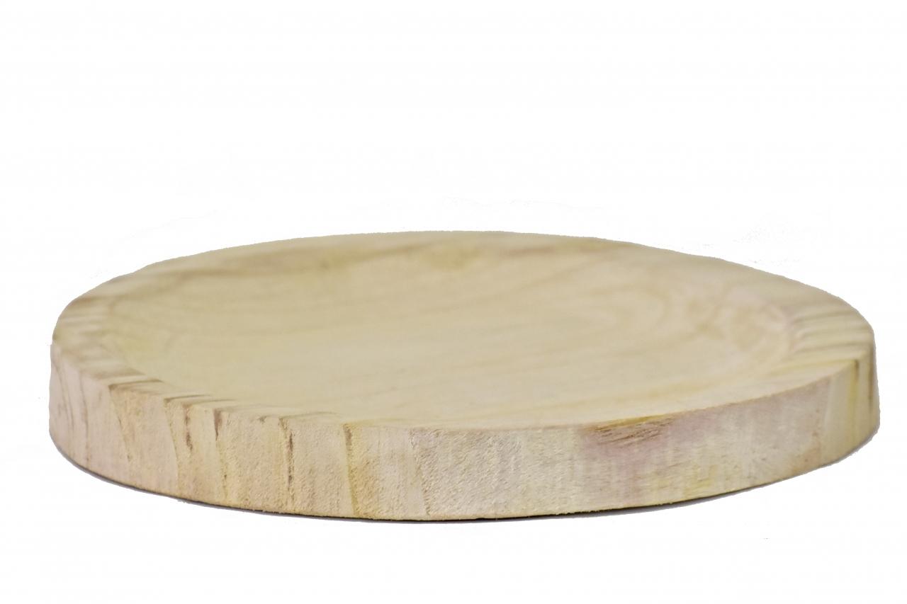 Dřevěný tác z Paulownie 27x3 cm
