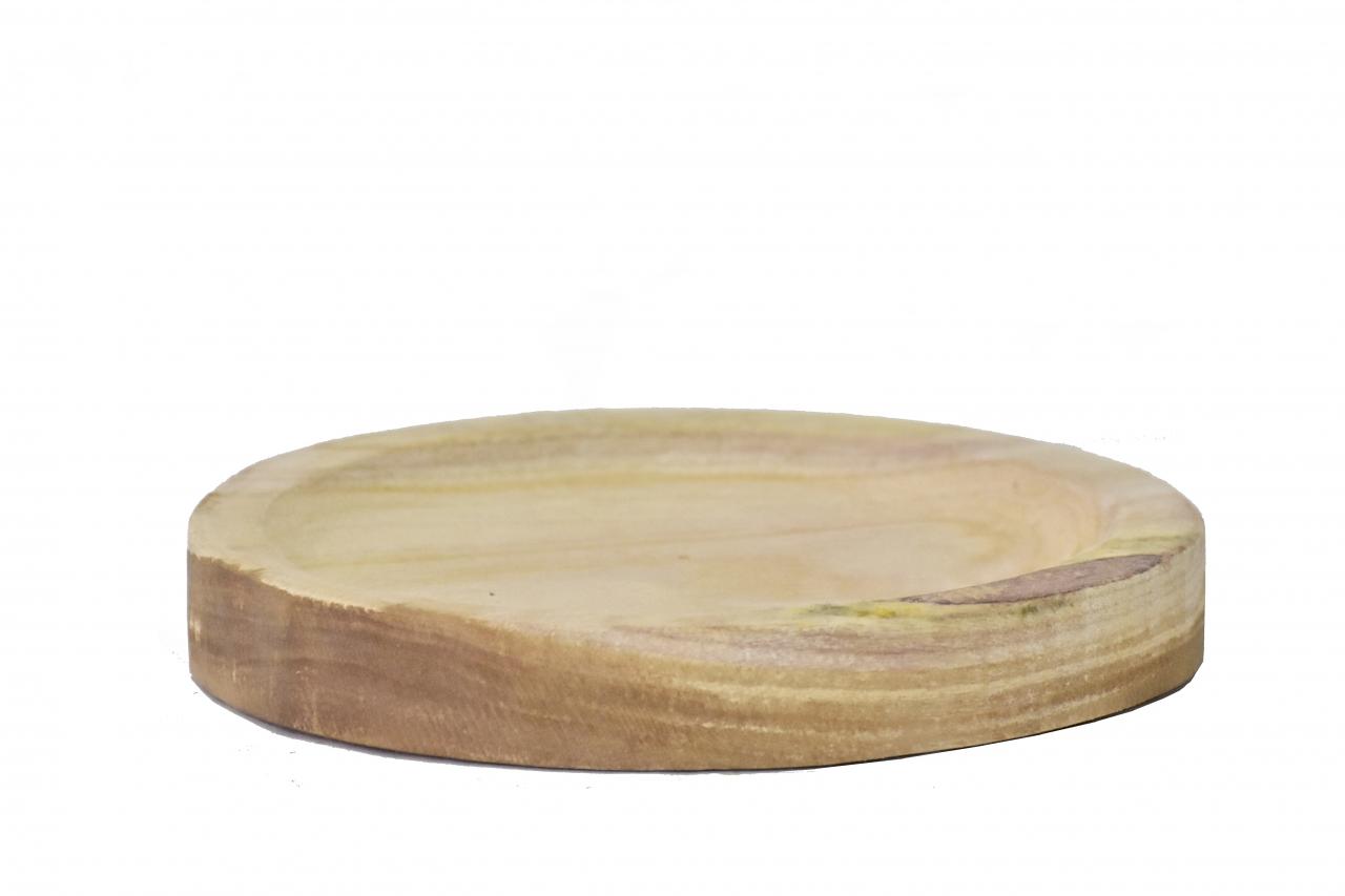 Dřevěný tác z Paulownie 22,5x3 cm