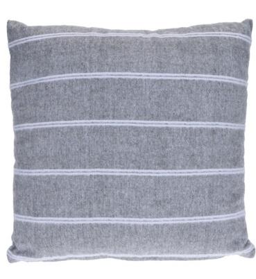 Polštář 100% bavlna, šedý
