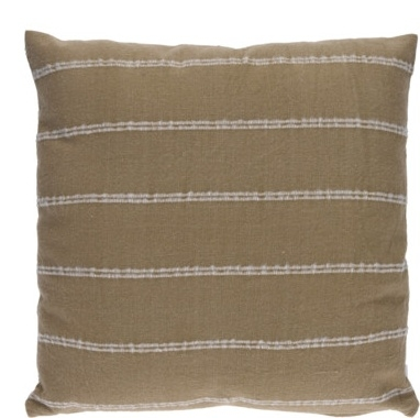 Polštář 100% bavlna, hnědý