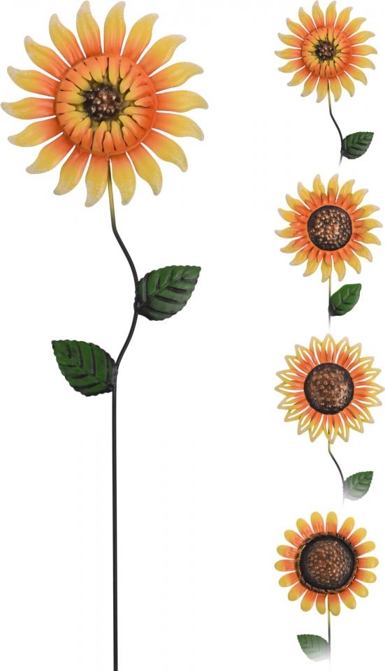 Zápich slunečnice 61 cm, mix druhů