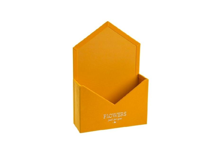 Flower box obálka, medová sametová