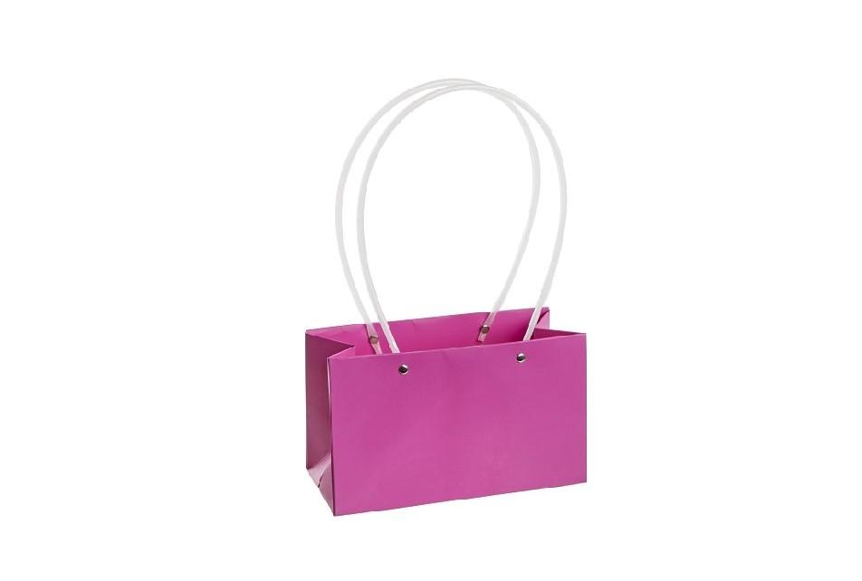 Flower box taška L lila , rovná