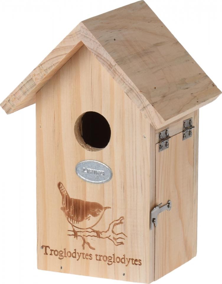 Dřevěná ptačí budka Troglodytes (střízlík) 19,5x13,5x11 cm