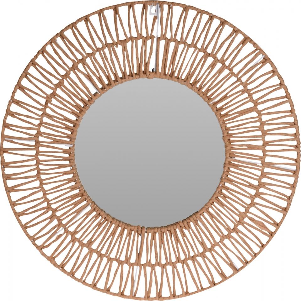 Nástěnné zrcadlo Natur paper 60 cm