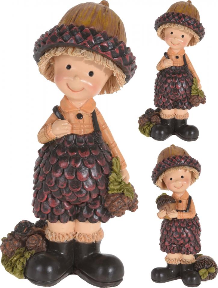 Podzimní figurka Dubík 10 cm, mix druhů