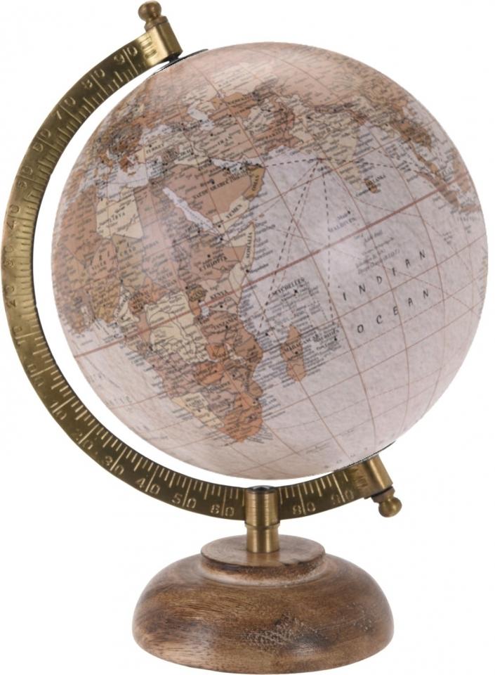 Otočný globus natur 24 cm