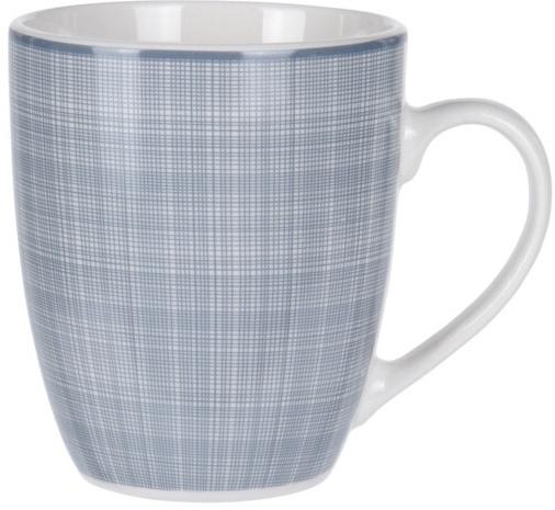 Porcelánový hrnek Weaving 350 ml, šedý